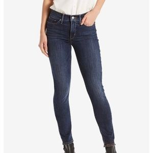 Levi's 311 Shaping Skinny Ankle Dark Blue